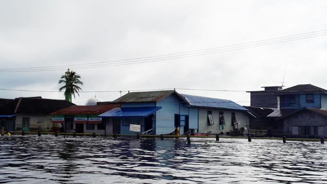 Banjir di Hulu Mahakam1